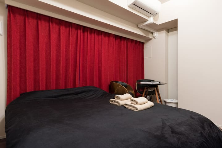 Ginza Central Area 3min by walk + wifi  -Ruby- - Chuo - Apartment