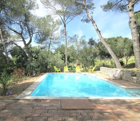 Villa avec piscine sans vis à vis - Nîmes - Villa