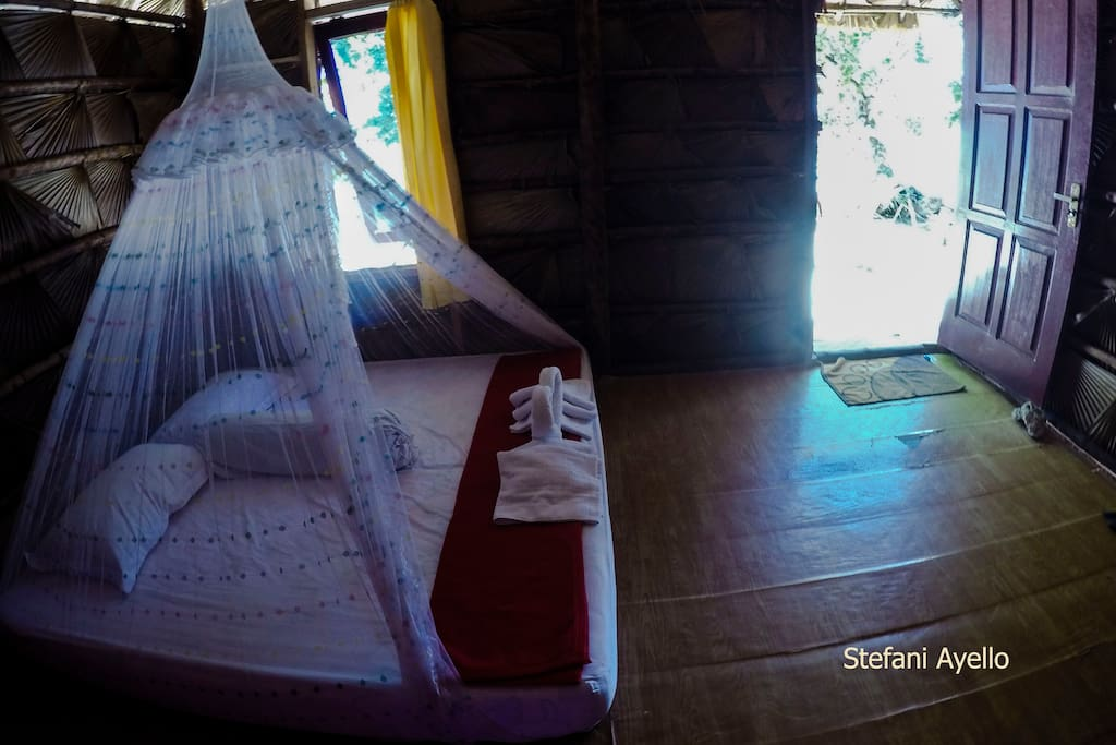 kamar dengan single matras