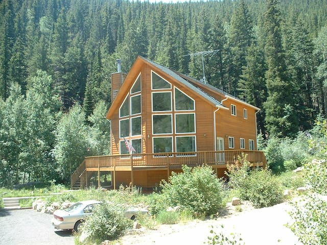 BEAUTIFUL STREAM SIDE MOUNTAIN HOME - Black Hawk - Casa
