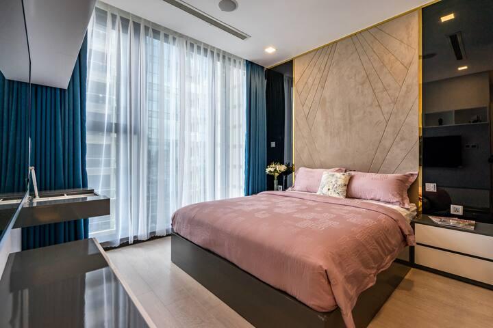 CBD Luxury Apartment 5 mins to finance district