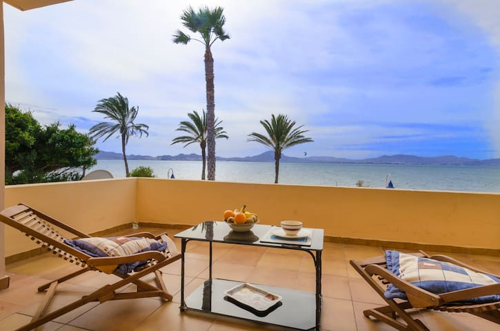 La Gola beach house with 5 rooms - La Manga - Rumah