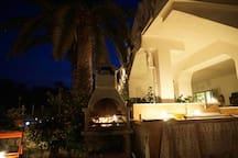 Villa Augusta by night