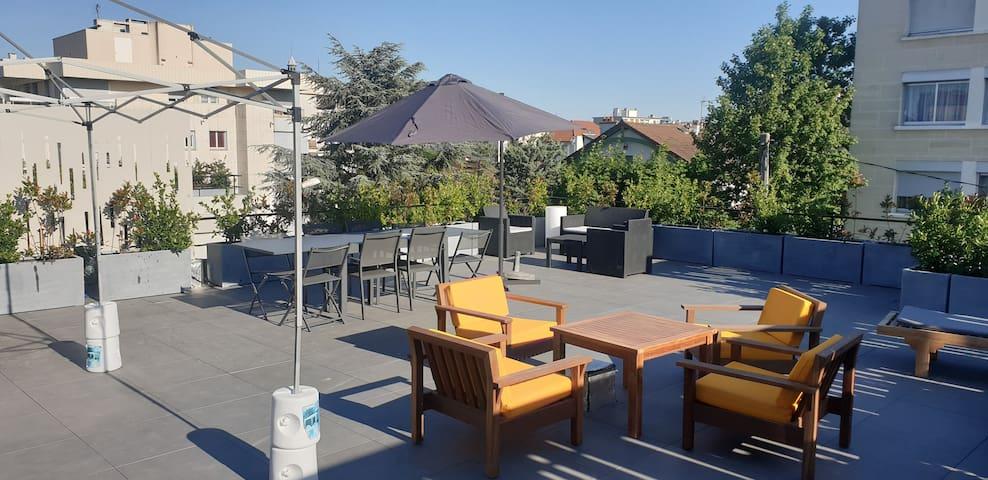 Superbe loft comtenporain de 150 m2 avec roof-top