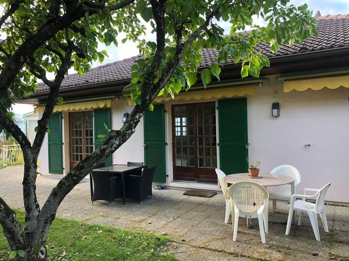 A quiet house in Haute Savoie, close to Geneva.