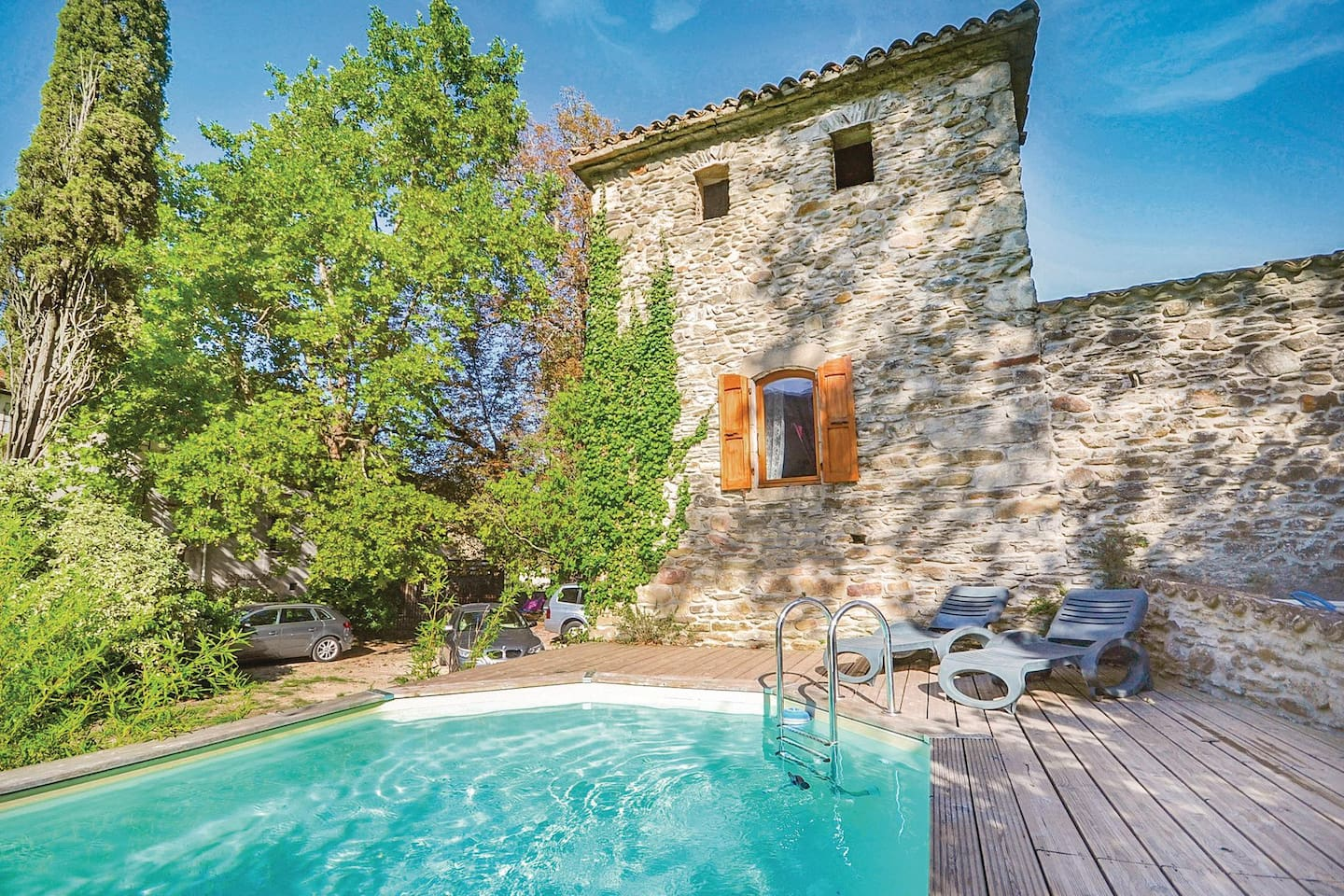 Holiday apartment with 2 bedrooms on 66m² in Les Salles du Gardon