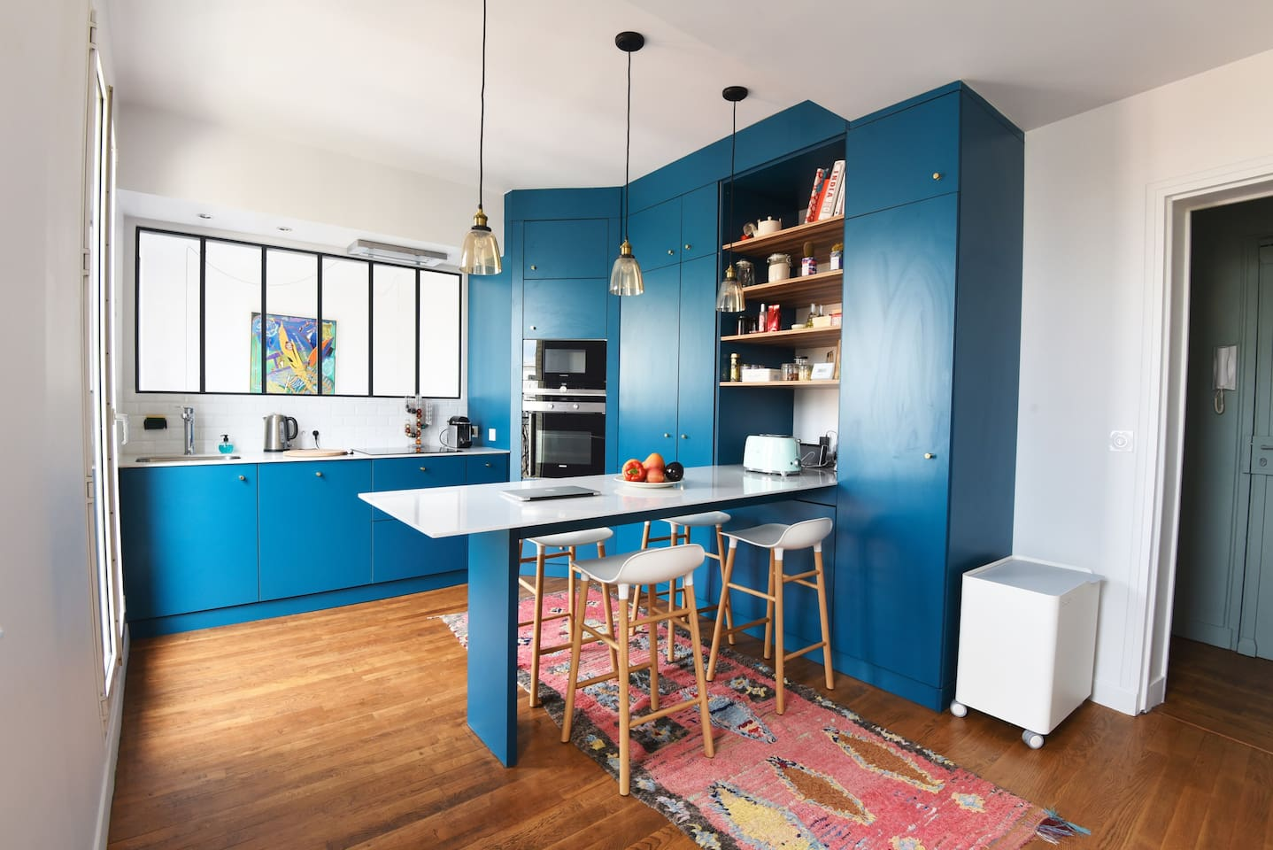 Kitchen view 1