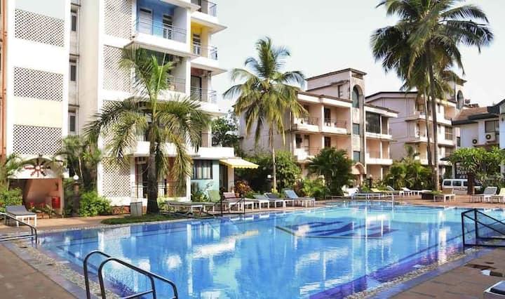 2BHK Apartment Palmarinha  Calangute  Near Beaches