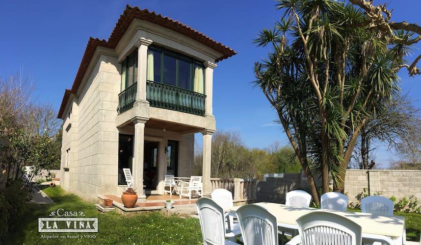 CASA LA VIÑA in SAMIL BEACH - VIGO (WiFi) - Vigo - House