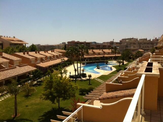 Apartamento tranquilo Playa del Arenal. - Jávea - Leilighet