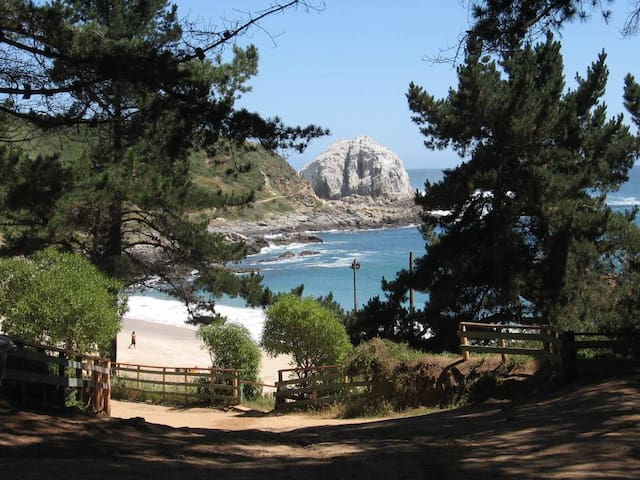 Casa a Pasos de Playa el Canelo/Canelillo