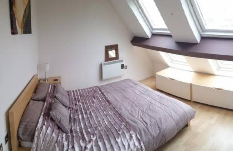 Private Modern Bright room in luxury Penthouse - Wolverhampton - Apartamento