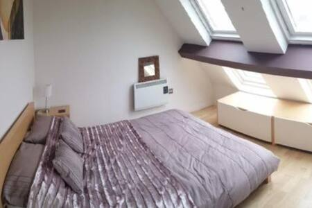 Private Modern Bright room in luxury Penthouse - Wolverhampton
