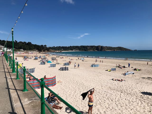 Location, Location - On The Beach St Brelade's Bay