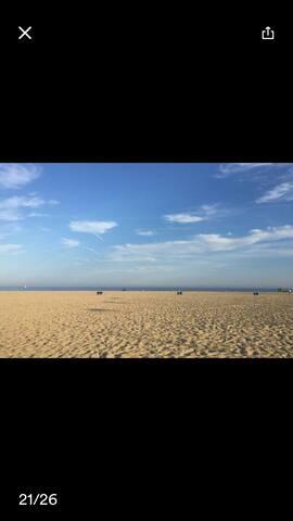 Está es la playa de ocata bonita,tranquila y amplia