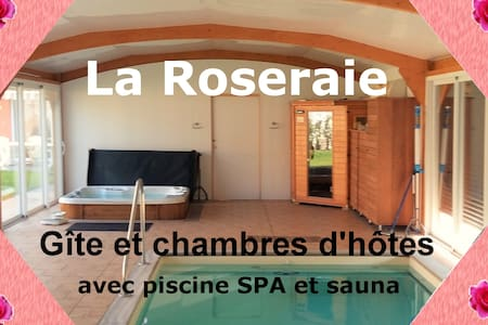Gîte  la Roseraie de Saint André de l'Eure - Saint-André-de-l'Eure - Hus