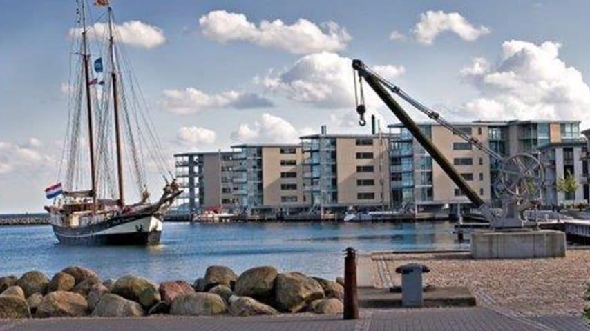 Luxus midt i konge byen Nyborg