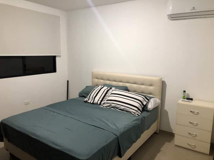 Habitación ideal en hermosa urb Viajes de trabajo!