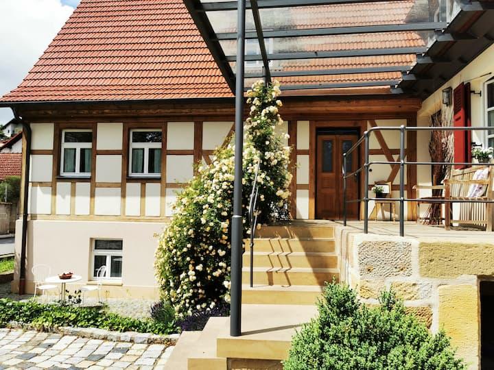 das Itzgrundferienhaus im Golddorf Mürsbach