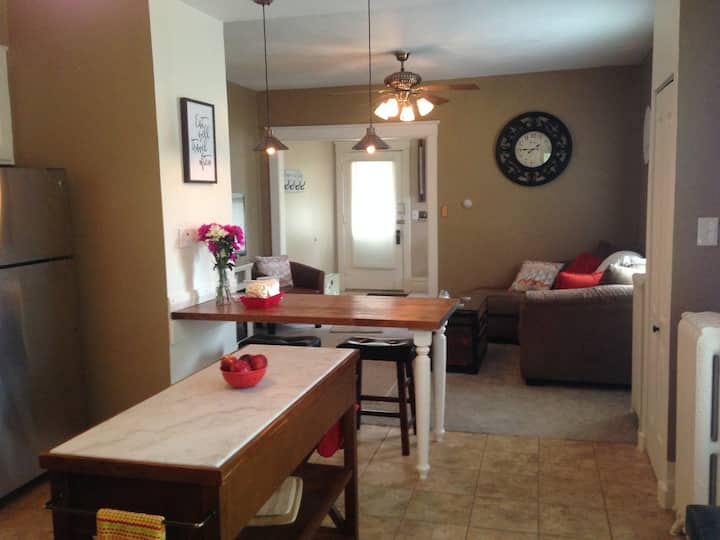 Cozy Apartment Close to Downtown Janesville