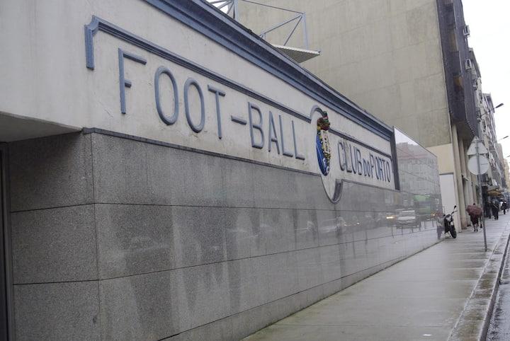Antigo campo de futebol do Porto.