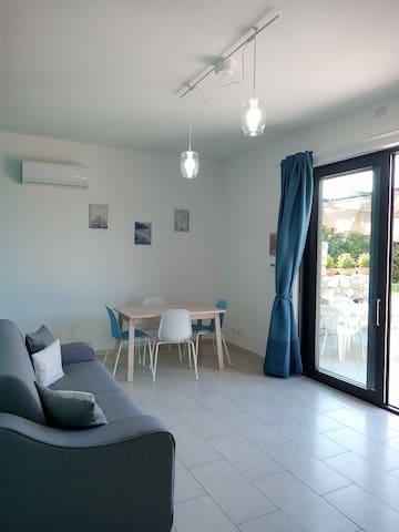 """""""Casa vacanza Colori di Sicilia"""" appartamento blu"""