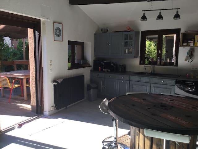 Maison avec jardin - Saint-Galmier - Adosado