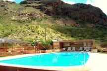 Terlingua Ranch Lodge swimming pool - just 4 miles away