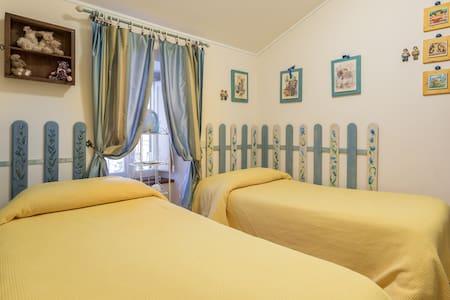 Cam 2 letti singoli bagno esterno - Assisi
