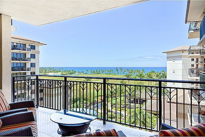 2BR/2BA Ko Olina Bch Villas 7thFl Direct Ocn View