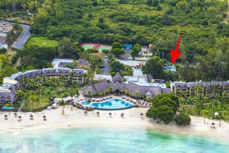 Arabica Villa next to beach Flic en Flac