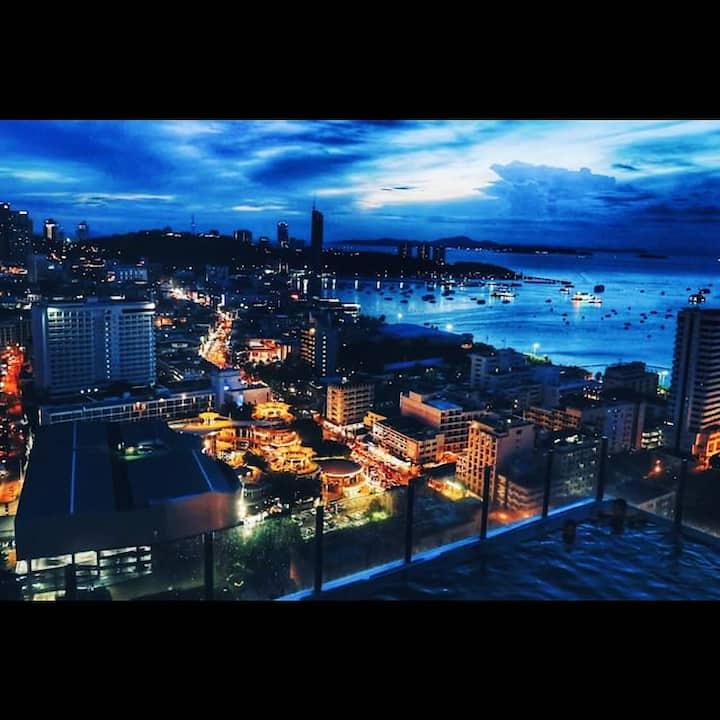 芭堤雅市中心Pattaya网红公寓!TheBaseCentral适合旅游度假