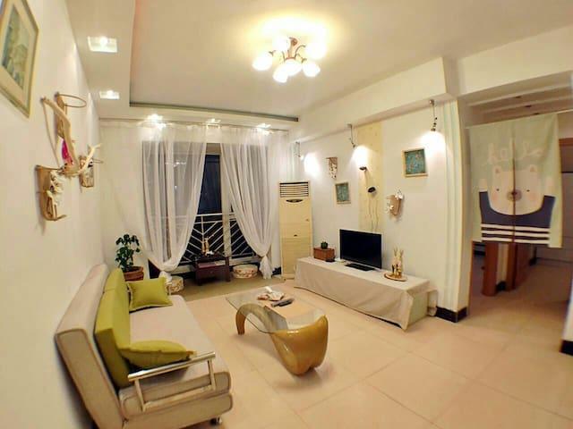 宽窄巷子琴台故径双地铁口两间独立卧室清新两室一厅套房 - Chengdu - House