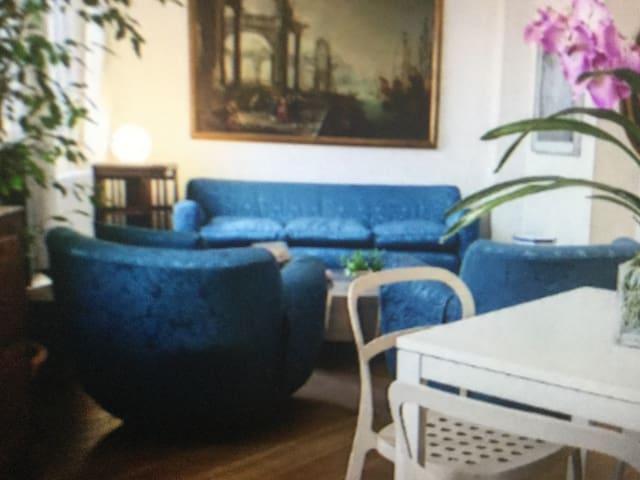 A spacious living area