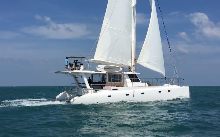 Sail Lanka Ceycat 53' - Trincomalee
