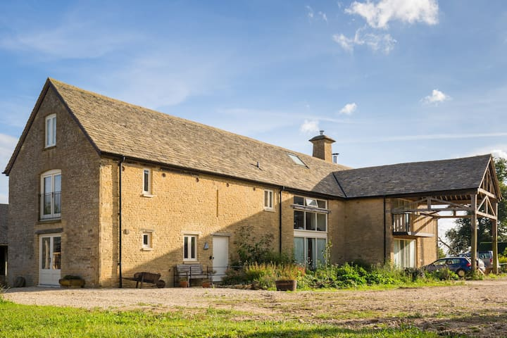 Our stone barn farmhouse guest wing - Chadlington - Rumah