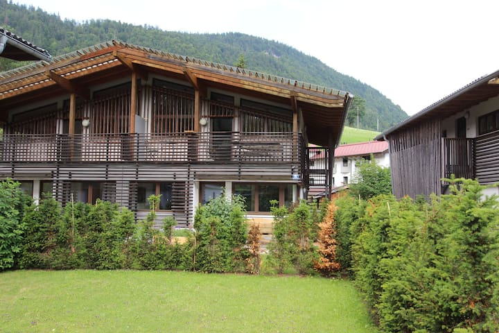 Acogedora casa de vacaciones en Kirchdorf, ideal para dos familias que viajan juntas.
