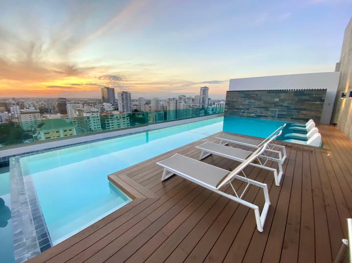 ¡Exclusivo apartamento en Santo Domingo !