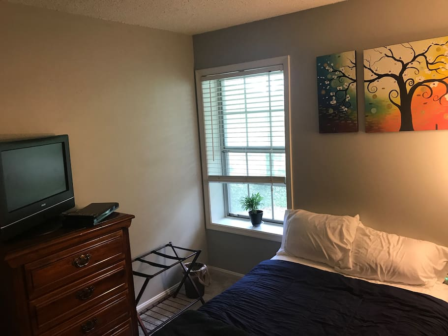 Another view of the private bedroom