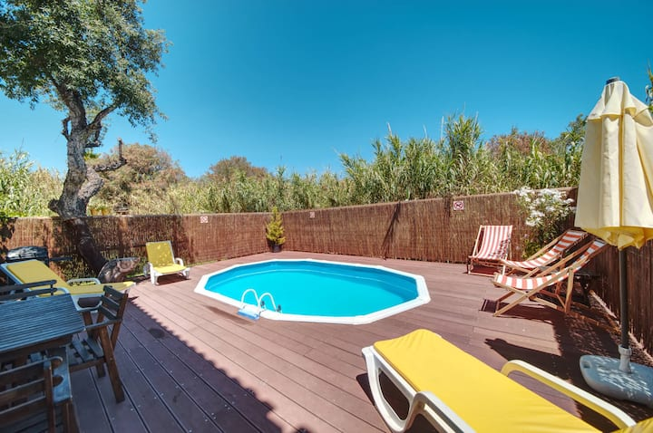 House with 3 bedrooms in Albufeira, with wonderful city view, private pool, furnished terrace - 1 km from the beach