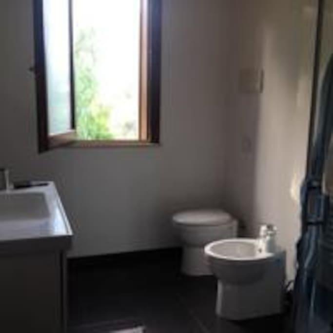Bagno privato per la camera al secondo piano