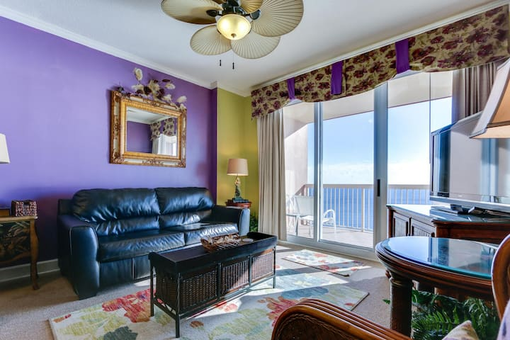 Gulf Front Condo with Beach View From Master