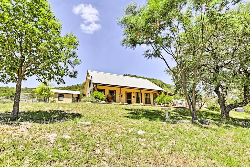 Each cottage has 2 bedrooms and 1.5 baths, accommodating a total of 12 guests.