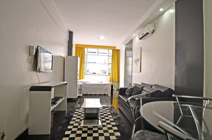 Bello e moderno alloggio in copacabana.