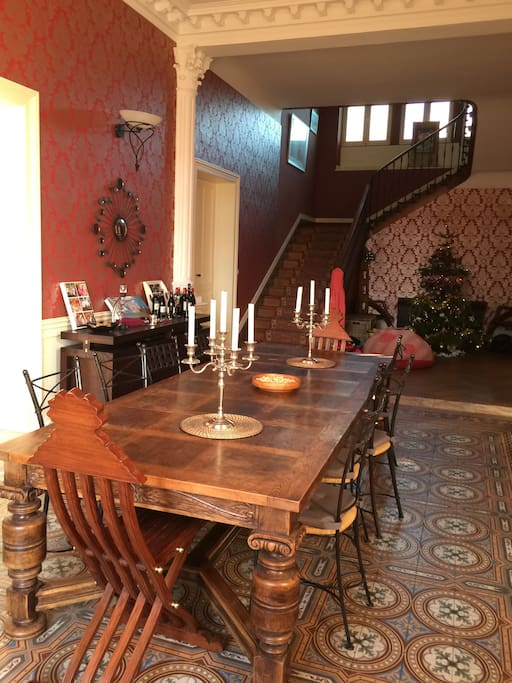 Dining room, breakfast can be provided every morning.