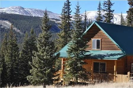 Secluded Fairplay Log Cabin with Expansive Views