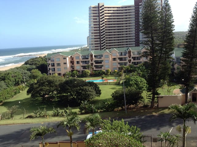 Durban apartment on the beach . South coast