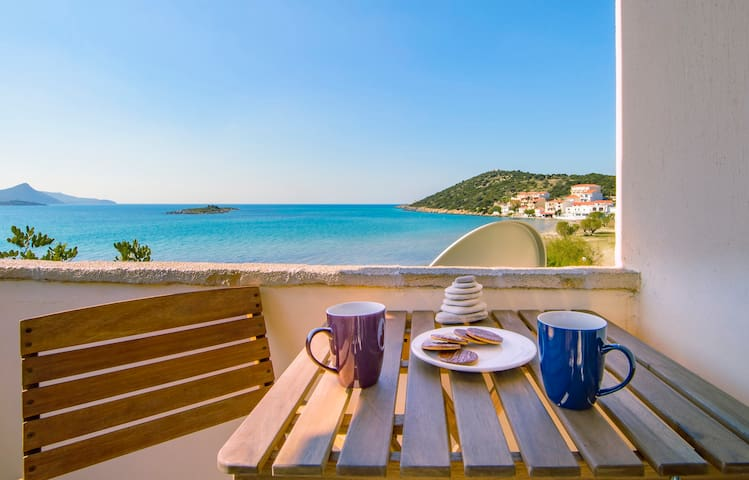 Enjoy morning coffee & evening wine with beautiful view