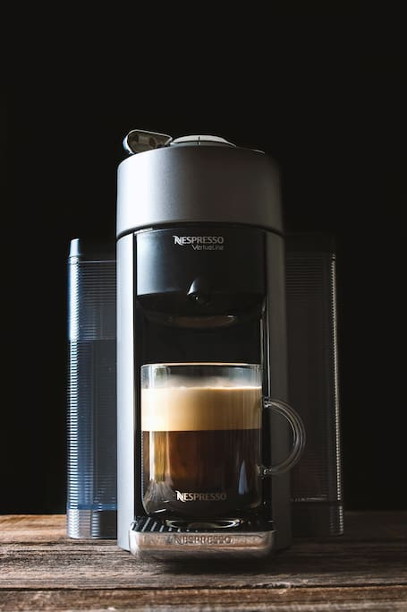 Complimentary Nespresso coffee for the guests included