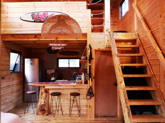 Amazing home in Bío Bío w/ 2 Bedrooms